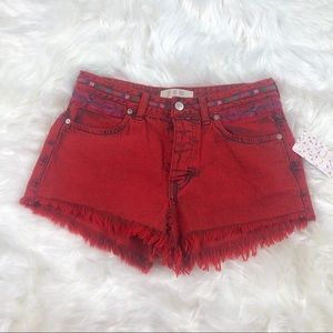 NWT Free People Women's Short Size 25